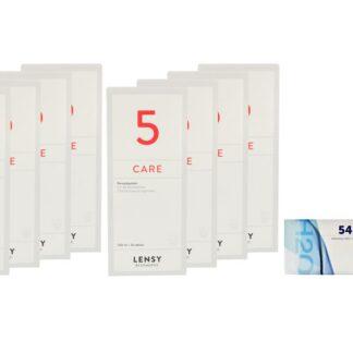 Extreme H2O 54 4 x 6 Monatslinsen + Lensy Care 5 Jahres-Sparpaket