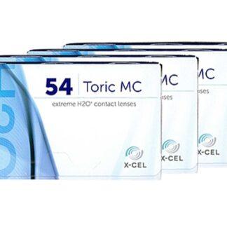 Extreme H2O 54 Toric MC 4 x 6 Monatslinsen