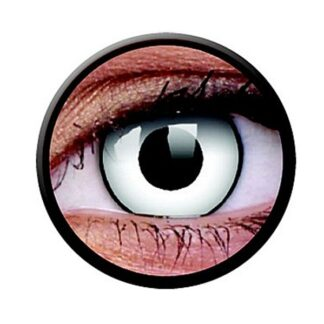 Funny Lens 2 Motiv-Drei-Monatslinsen White Zombie