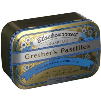 Grether's Blackcurrant zuckerfreie Pastillen