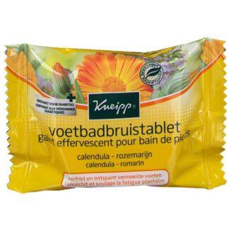 Kneipp® Ringeblume - Rosamarin Fußbad Brausetablette