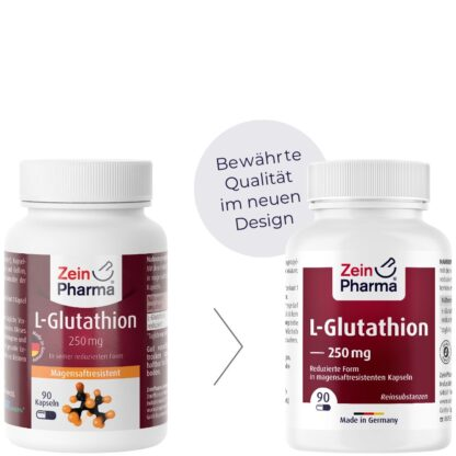 L Gluthathion Kapseln 250 mg ZeinPharma