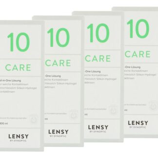 Lensy Care 10 4 x 300 ml All-in-One Lösung