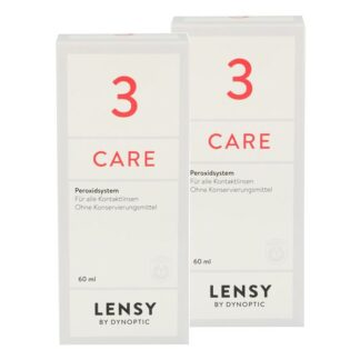 Lensy Care 3 2 x 60 ml Peroxidlösung