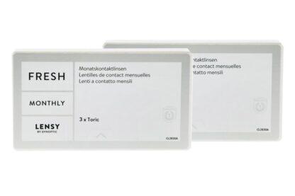Lensy Monthly Fresh Toric 2 x 3 Monatslinsen