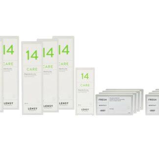 Lensy Monthly Fresh Toric 8 x 3 Monatslinsen + Lensy Care 14 Jahres-Sparpaket