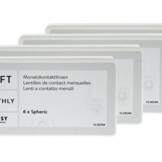 Lensy Monthly Soft Spheric 4 x 6 Monatslinsen