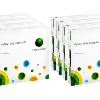 MyDay daily disposable 2x360 Sparpaket 12 Monate Tageslinsen