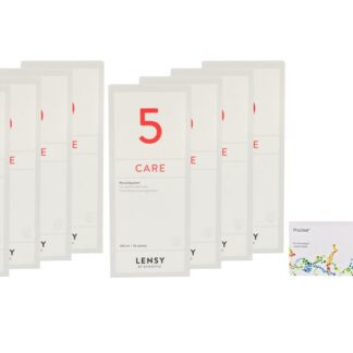 Proclear 4 x 6 Monatslinsen + Lensy Care 5 Jahres-Sparpaket