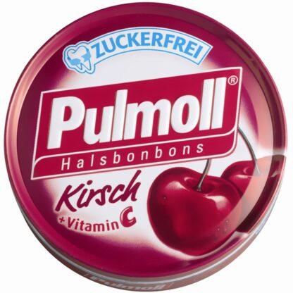 Pulmoll® Hustenbonbons Wildkirsch + Vitamin C zuckerfrei