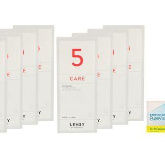 Pure Vision 2 HD For Presbyopia 4 x 6 Monatslinsen + Lensy Care 5 Jahres-Sparpaket