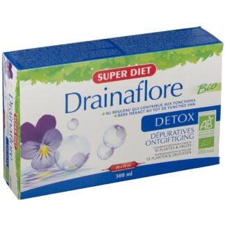 SUPER DIET Drainaflore BIO DETOX Ampullen