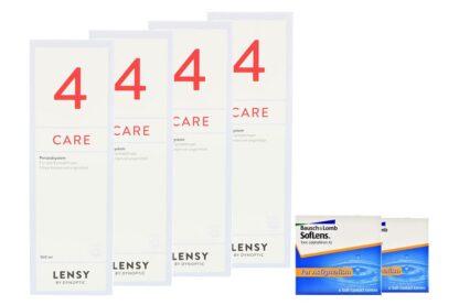 SofLens 66 Toric 2 x 6 Monatslinsen + Lensy Care 4 Halbjahres-Sparpaket