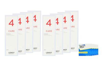 SofLens Multi-Focal 4 x 6 Monatslinsen + Lensy Care 4 Jahres-Sparpaket