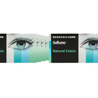 SofLens Natural Colors 8 x 2 farbige Monatslinsen