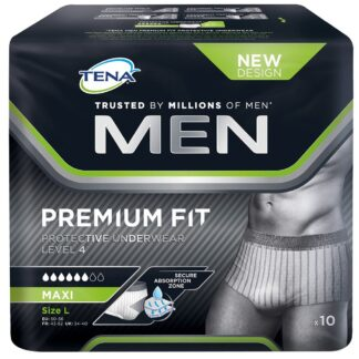 TENA MEN Premium Fit Protective Underwear Level 4 L