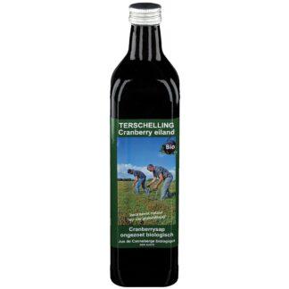 Terschellinger Cranberry pur & naturbelassen ungesüßter Saft