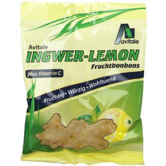 Avitale Ingwer-Lemon Fruchtbonbons