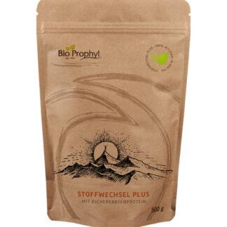 BioProphyl Stoffwechsel Plus 21 Portionen à 24 g Pulver mit Flohsamenschalen, resistenter Stärke Kichererbsenprotein und Milchsäurebakterien