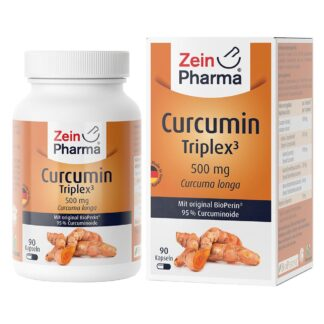 CURCUMIN-TRIPLEX3 500 mg/Kap.95% Curcumin+BioPerin