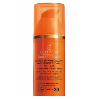 Collistar Sonnenpflege Collistar Sonnenpflege Global Anti-Age Protection Tanning Face Cream SPF 30 50.0 ml