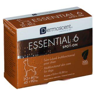 Dermoscent® Essential 6® Spot-On Chien 20-40 kg 2,4 ml