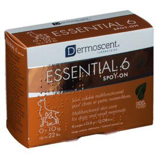 Dermoscent® Essential 6® spot-on Chien 0-10Kg 0,6 ml