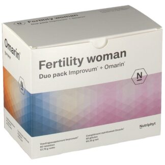 Fertility Woman Duo Omarin + Improve 2x60 comprimés