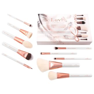 Luvia Pinselsets Luvia Pinselsets Essential Brushes - Expansion Set - Feather White 1.0 pieces