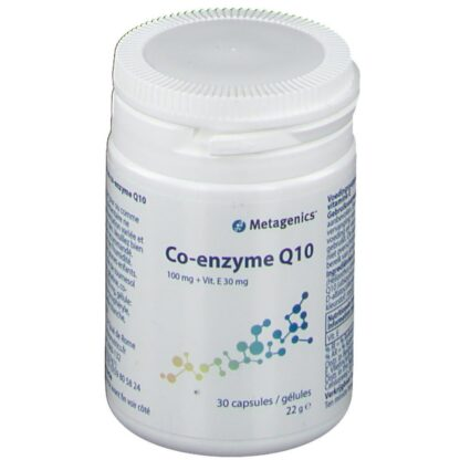 Metagenics® Coenzyme Q10 100 mg + Vitamine E