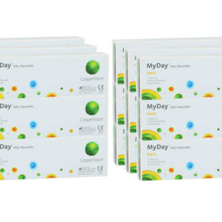 MyDay daily disposable toric 6 x 90 Tageslinsen Sparpaket 9 Monate