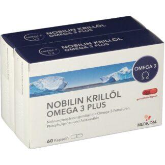 NOBILIN Krillöl Omega-3 Plus Kapseln