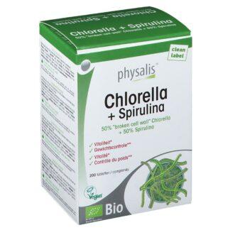 Physalis Chlorella + Spirulina Bio