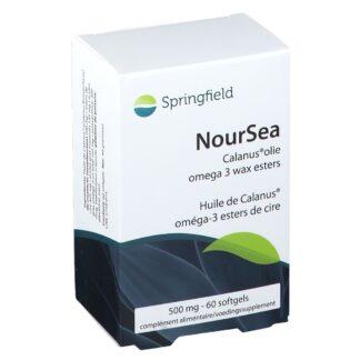Springfield NourSea Calanus Huile 500 mg 60 gélules souples