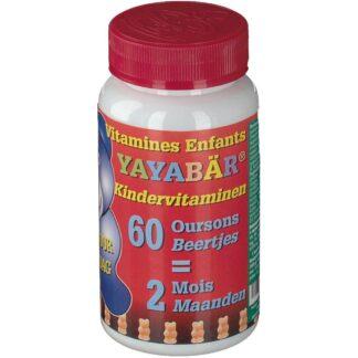 Yayabär® Oursons vitaminés pour enfants