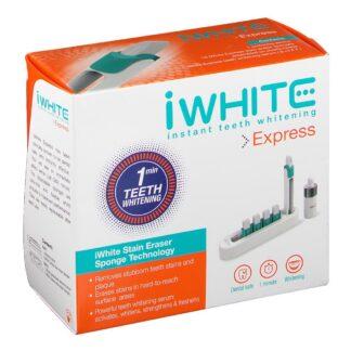 iWhite Express Stain Eraser Sponge Technology