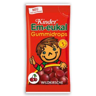 Kinder Em-eukal® Gummidrops Wildkirsche zuckerhaltig
