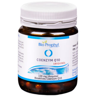 BioProphyl Coenzym Q10 Ubiquinol 60 pflanzliche Kapseln à 100 mg Ubiquinol - die bioaktive Form des Coenzym Q10
