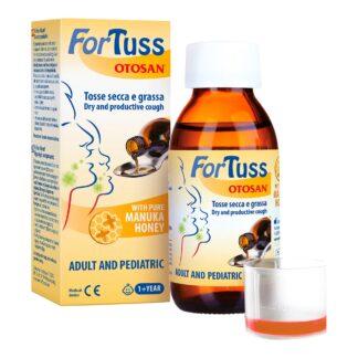 OTOSAN Fortuss Hustensirup, 180 ml