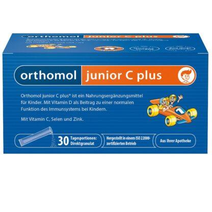 Orthomol junior C plus Granulat Himbeer/Limette