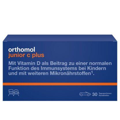 Orthomol junior C plus Kautabletten Mandarine/Orange