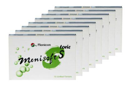 Menisoft S toric 8 x 6 Zwei-Wochenlinsen