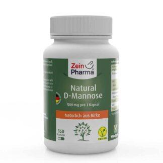 Natural D Mannose capsules 500 mg ZeinPharma