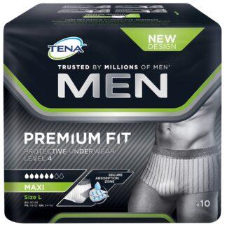 TENA MEN Premium Fit Protective Underwear Level 4 L