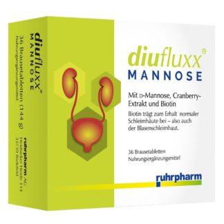 diufluxx® Mannose Comprimés effervescents
