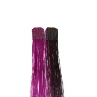 Balmain CF 25 cm wild berry Color Flash human hair