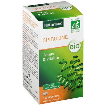 Naturland Spiruline Végécaps® Bio Tonus & Vitalité