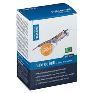 Purasana Krillöl 500 mg