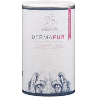 BioProphyl Animicus Dermafur 500 g Pulver mit Vitaminen, Spurenelementen und Kräutern für Haut und Fell