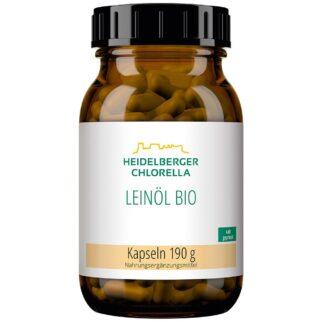 Heidelberger Chlorella® Huile de lin biologique